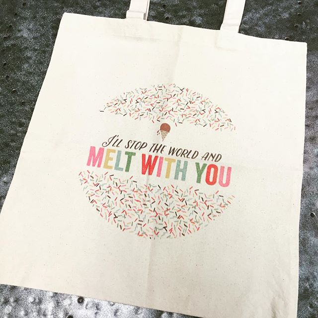 These may be the cutest digitally printed bags we have ever done!! #digitalprintersrockourworld #dunstangroup #custom